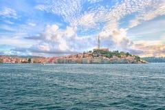 kroatien Ansicht von Rovinj Lizenzfreie Stockfotos