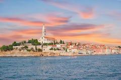 kroatien Ansicht von Rovinj Lizenzfreie Stockfotografie