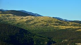Kroatien-Berge lizenzfreie stockfotografie
