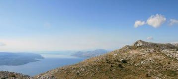 Kroatien/Berge, Meer und Inseln Lizenzfreie Stockbilder