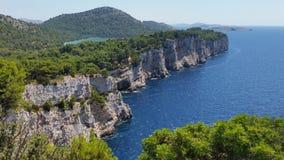 Kroatien för ica Kornat för ‡ för TelaÅ ¡ Ä Royaltyfria Bilder