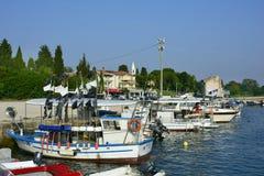 Kroatien Istria, Savudrija Royaltyfri Bild