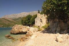Kroatien-Küste Stockfotos