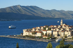 Kroatien - Korcula Stockfotos