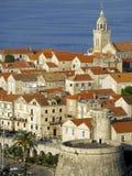 Kroatien Korcula Arkivfoto