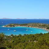Kroatien-Natur Lizenzfreies Stockbild