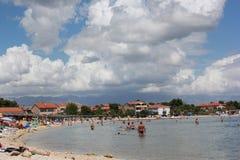 Kroatien - Pag Arkivbild