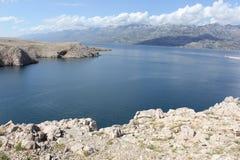 Kroatien - Pag Arkivfoto