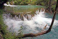 Kroatien-Plitvice Arkivbild