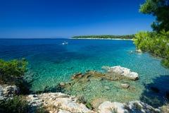 Kroatien - Rab Lizenzfreies Stockbild