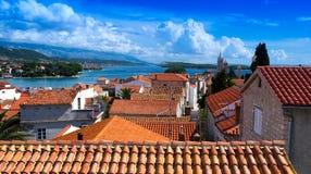 Kroatien, Rab City Lizenzfreies Stockfoto