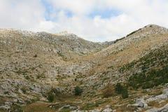 Kroatien/Schönheit von Bergen Lizenzfreies Stockbild