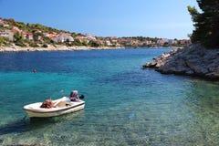 Kroatien-Sommer Lizenzfreie Stockbilder