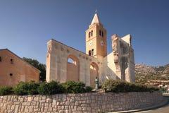Kroatien staden av Karlobag arkivbild