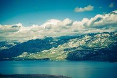 Kroatien und adriatisches Meer Stockfotografie