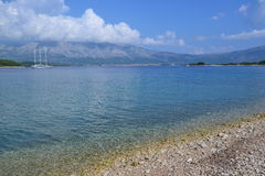 Kroatisch landschap Royalty-vrije Stock Afbeelding