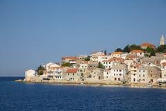 Kroatisch vissersdorp Royalty-vrije Stock Afbeelding