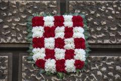 Kroatisch wapenschild Stock Afbeelding