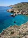 Kroatische Adria lizenzfreies stockbild