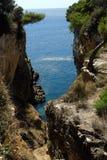 Kroatische canion Royalty-vrije Stock Afbeelding