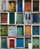 Kroatische deuren Stock Foto