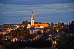 Kroatische Griekse Katholieke Kathedraal, Krizevci Royalty-vrije Stock Foto's