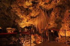 Kroatische Höhle Lizenzfreie Stockfotos