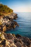 Kroatische Küste Stockbild