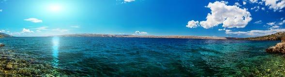 Kroatische Küste Lizenzfreie Stockbilder