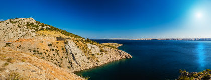 Kroatische Küste Lizenzfreie Stockfotos