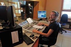 Kroatische Katholieke Radio dit gevierde jaar 20 jaar van het uitzenden in Zagreb Stock Foto's