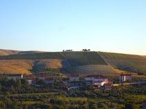 Kroatische Landschaft - Vrpolje Stockfoto