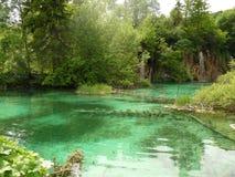 Kroatische Seen lizenzfreies stockbild