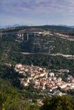 Kroatische stad Bakar Royalty-vrije Stock Foto's