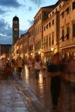 Kroatische Straße lizenzfreies stockfoto