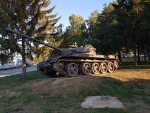Kroatische tank royalty-vrije stock afbeelding