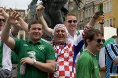 Kroatische und irische Gebläse Stockfotografie