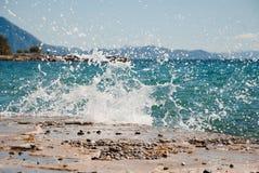 Kroatischer Meerblick Lizenzfreie Stockbilder