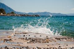 Kroatischer Meerblick Lizenzfreie Stockfotos