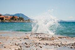 Kroatischer Meerblick Stockbilder