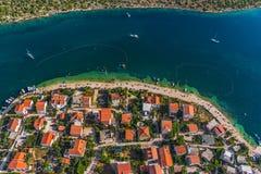 Kroatischer Sommer Lizenzfreies Stockfoto