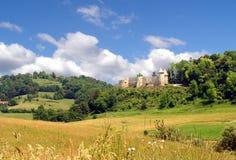 Kroatisches mittelalterliches Schloss Stockfotos