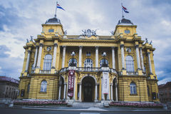 Kroatisches Nationaltheater Stockfoto