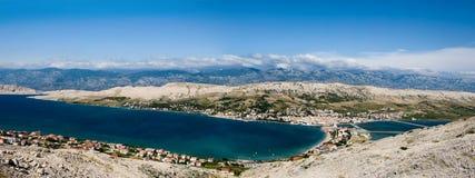 kroatisk ö pag Royaltyfria Bilder