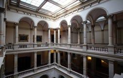 Kroatisk akademi av vetenskaper och konster i Zagreb royaltyfri foto