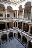 Kroatisk akademi av vetenskaper och konster i Zagreb royaltyfri bild