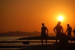 kroatisk ferie Arkivfoto