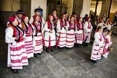 Kroatisk folkmusik Arkivfoto