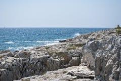 Kroatisk havssikt Royaltyfri Fotografi