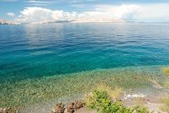 Kroatisk kust Royaltyfri Bild